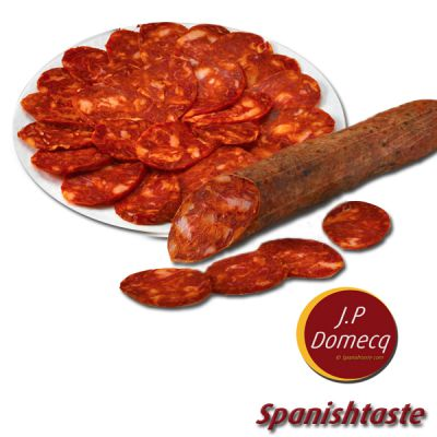 Chorizo Bellota 100% ibérico Domecq 500gr