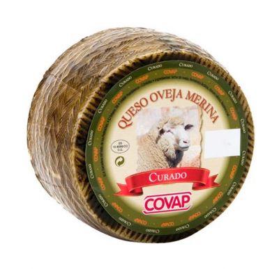 Queso de oveja merina curado 1,5kg.